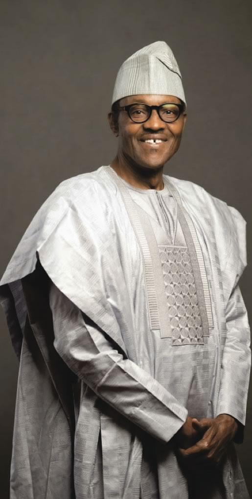 Muhammadu Buhari  Dress for Votes