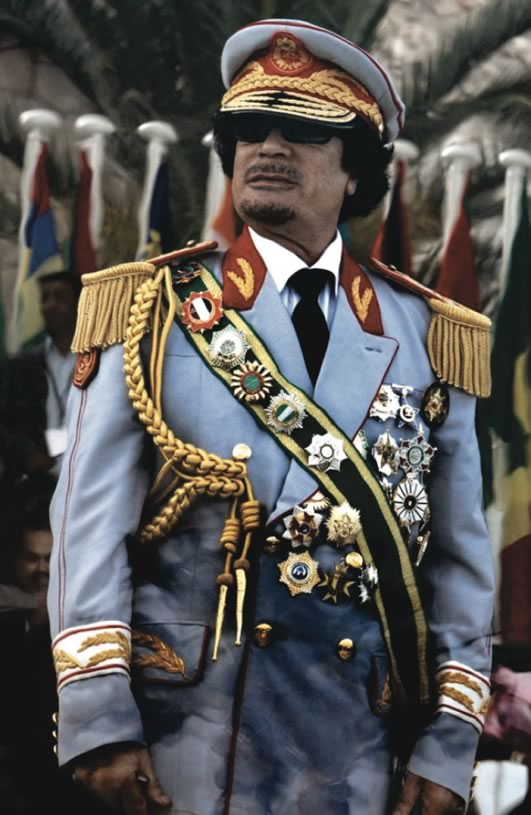 Muammar Gaddafi ␣ the Fashion King