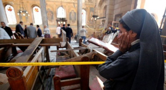 Worshippers-at-a-Coptic-Church